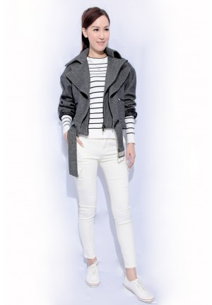 wool motorcycle jacket